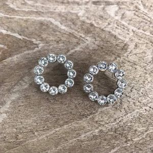 Swarovski Crystal Stone Post Earrings